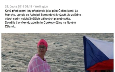 SPORT.CZ – Bernardovou nezastavily bílé hřebeny, medúza ani mořská nemoc