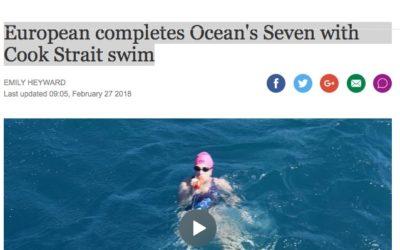 www.stuff.co.nz – European completes Ocean'sSeven with Cook Strait swim