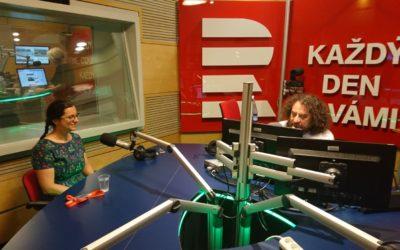 Večerní host Radiožurnálu – Jak se stát královnou sedmi oceánů