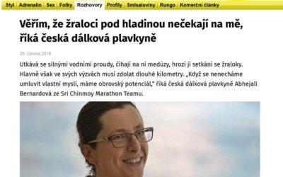 Věřím, že žraloci pod hladinou nečekají na mě – xman.cz