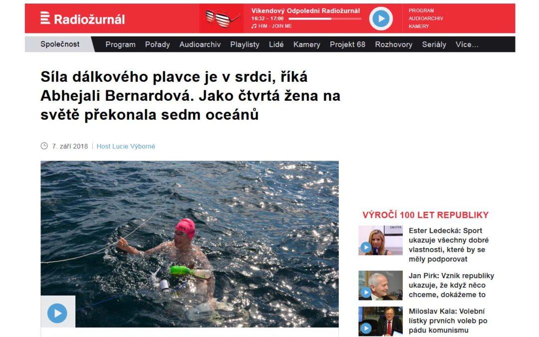 Host Lucie Výborné – Síla dálkového plavce je vsrdci