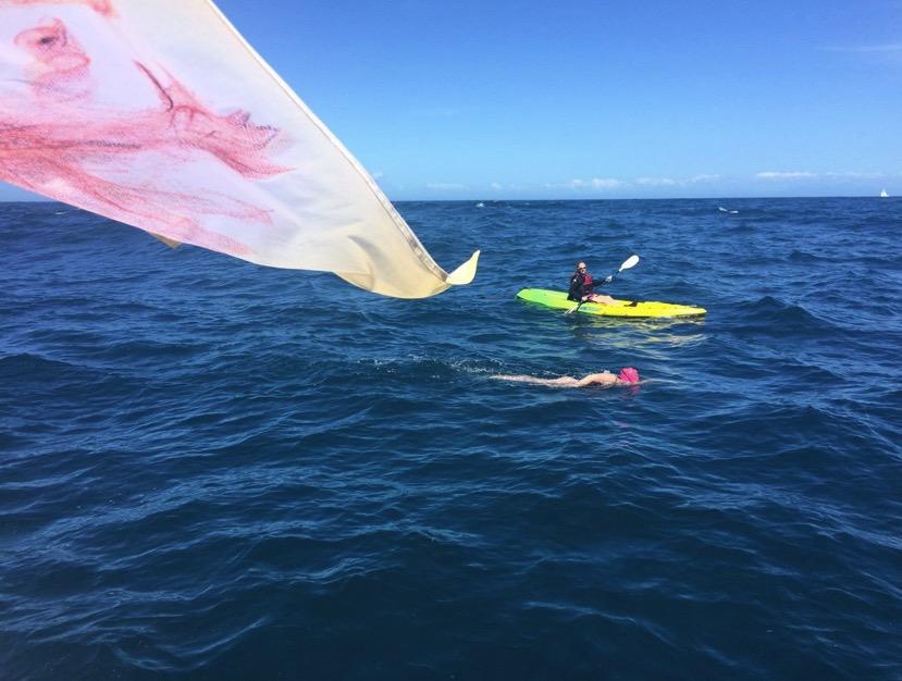 Abhejali Bernardová Becomes 10th Oceans Seven Swimmer
