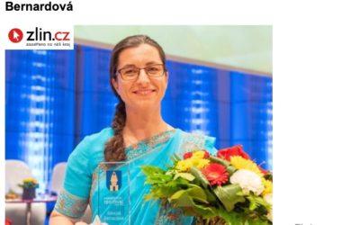 Nejlepším sportovcem roku se ve Zlíně stala plavkyně Bernardová – zlin.cz
