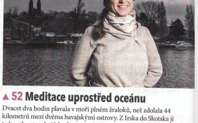 Meditace uprostřed oceánu – časopis TÉMA