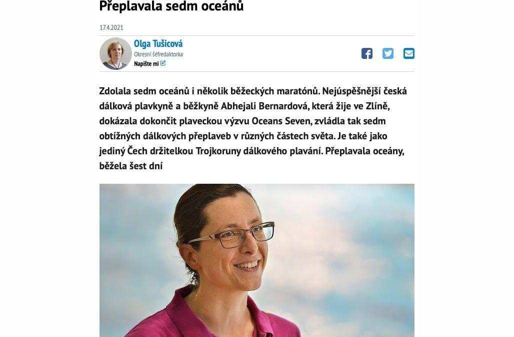 Bolest, strach a únavu vyháním meditací, říká žena. Přeplavala sedm oceánů – Deník.cz